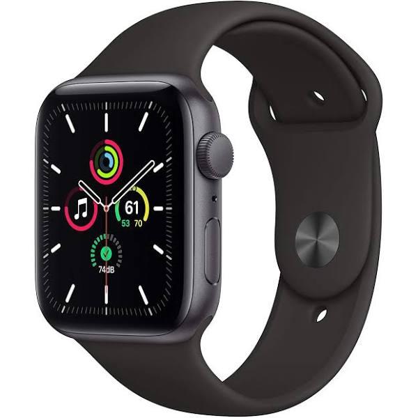 Apple Watch SE (GPS) 44 mm Space Grey/Svart