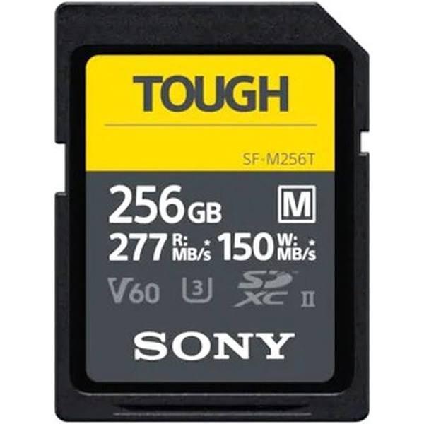 Sony SDXC M-Series Tough 256GB UHS-II U3 V60, 277MB/s