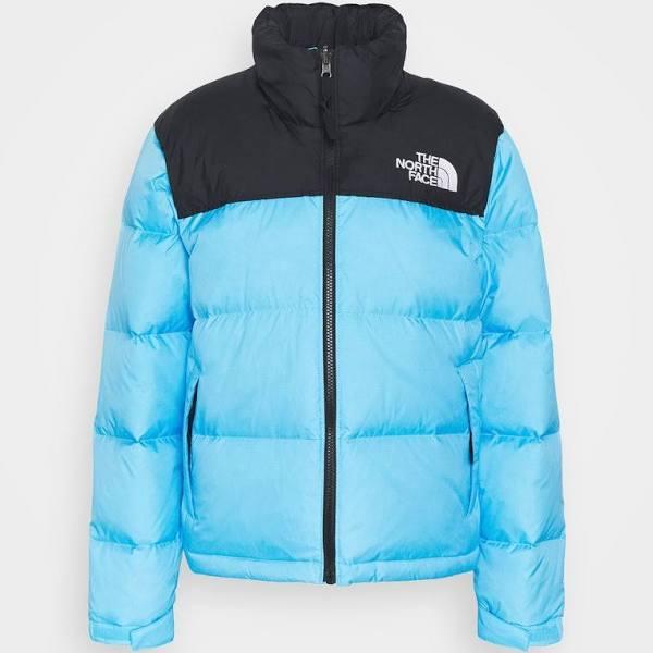 The North Face Retro Nuptse Jacket Dunjacka ethereal blue, gender.adult.female, Storlek: Large, Blå
