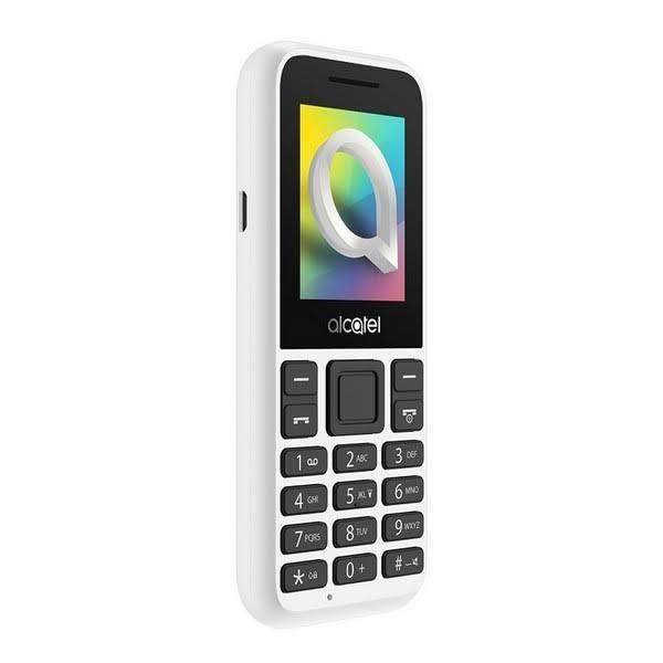 """Mobiltelefon ALCATEL 1066D-2BALES1 1,8"""" QQVGA Bluetooth Vit"""