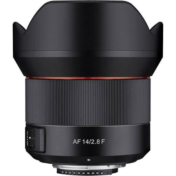Samyang 14mm f/2.8 ED AS IF UMC Lens for Canon EF, Mount EOS EF, Full Frame es, Prime, Wide Focus Manual Only,