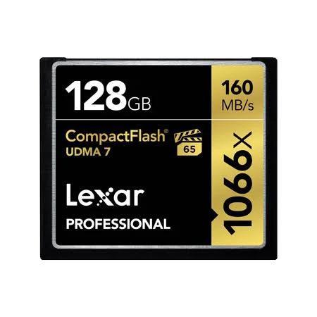 Lexar 1066X 128GB 160MB/s Professional CompactFlash Memory Card