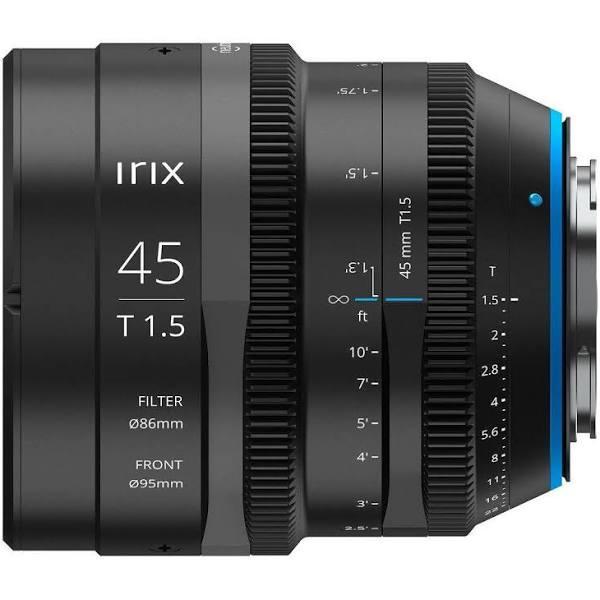 Irix Cine Lens 45mm T1.5 for Canon