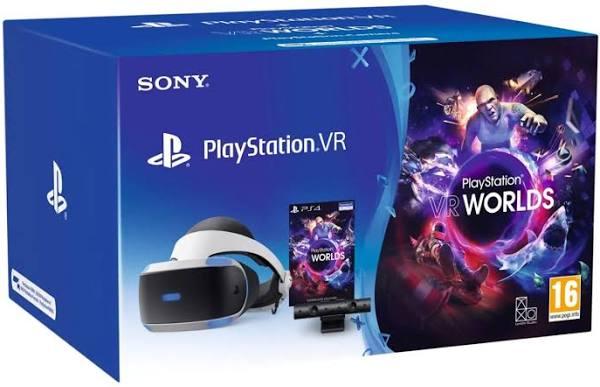 PlayStation VR Camera v2 + VR Worlds