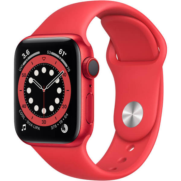 Apple Watch Series 6 - 40mm / GPS + Cellular / PRODUCT(RED) Aluminium Case / PRODUCT(RED) Sport Band