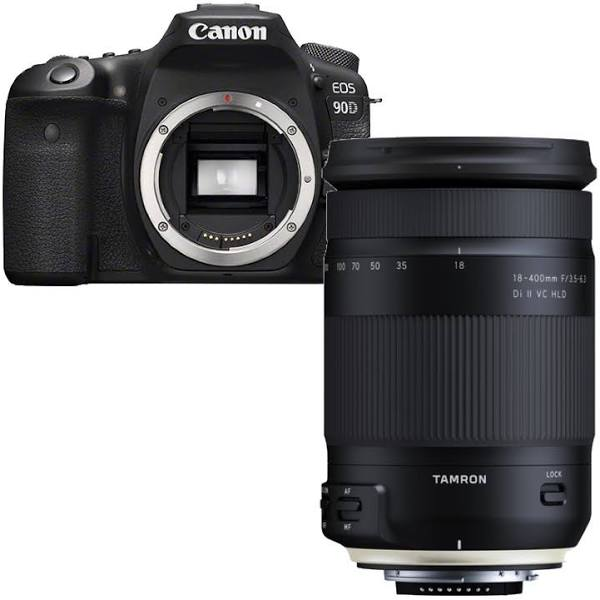 Canon EOS 90D + Tamron 18-400mm Di II VC HLD