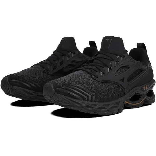 Mizuno Wave Prophecy 9 Running Shoes - Black - 6