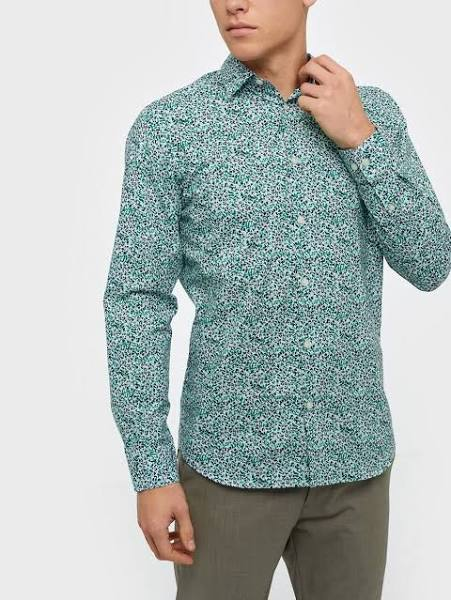 Selected Homme Slhslimnigel Shirt Ls B Skjorta Vit