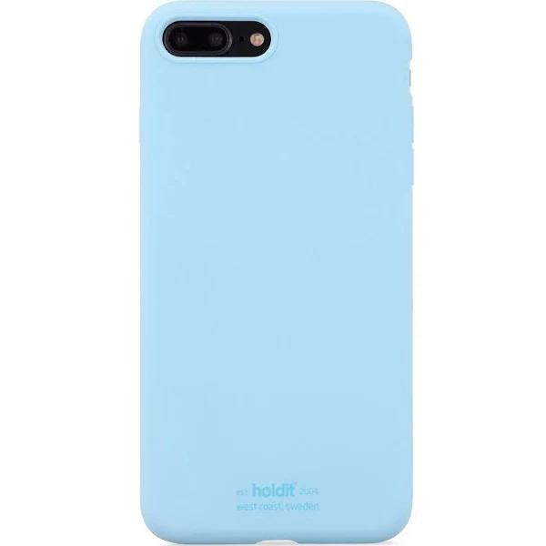 holdit iPhone 7/8 Plus Skal Silikon Ljusblå