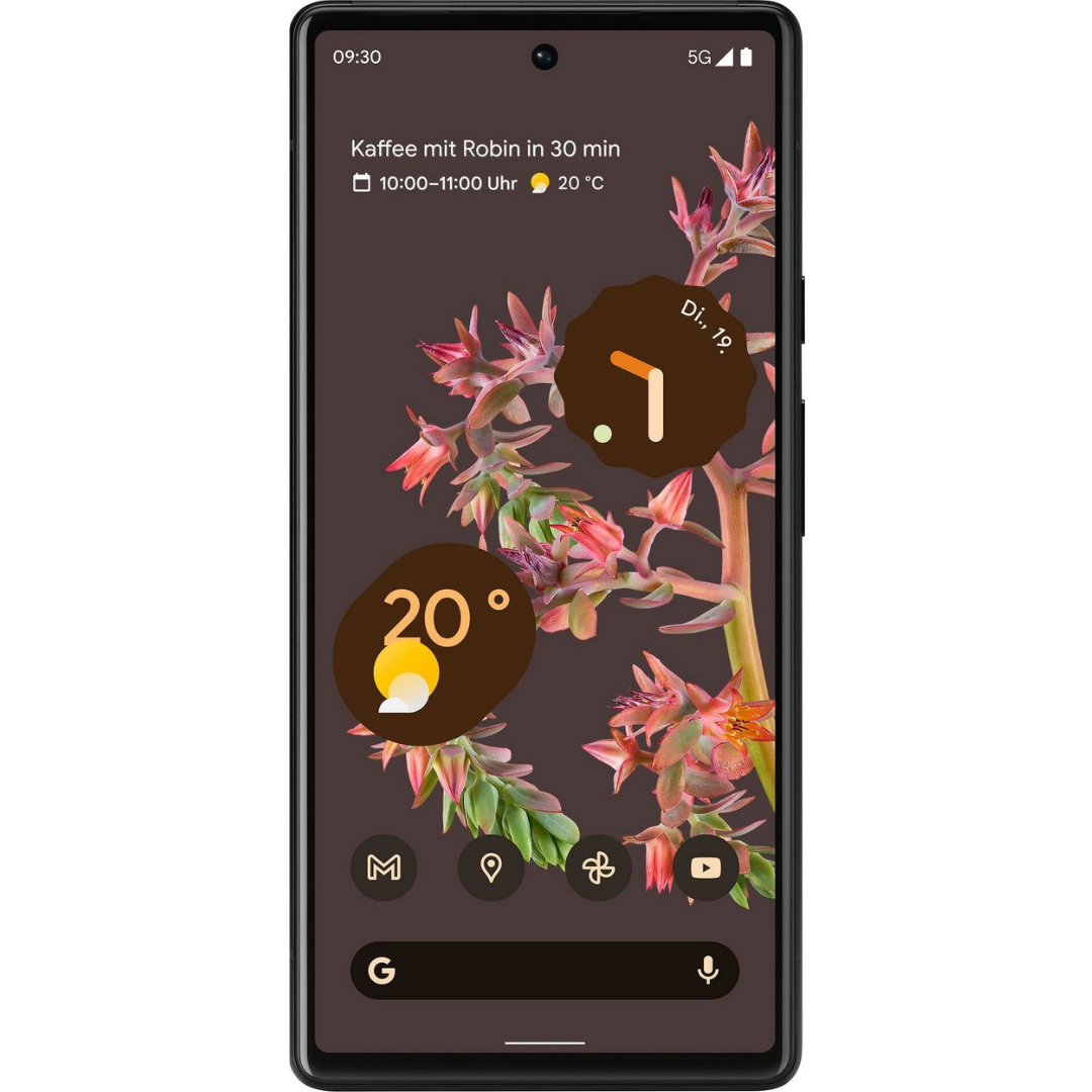 Google Pixel 6 - Stormy Black - 128GB