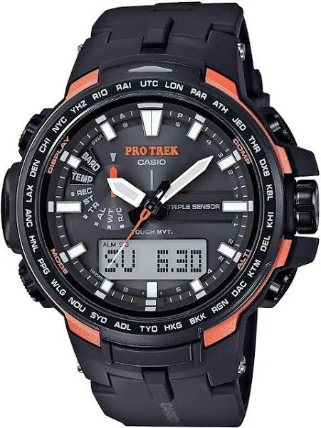 CASIO PROTREK Electric Wave Solar PRW-6100Y-1JF Black