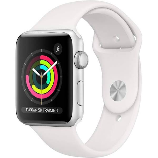Apple Watch Series 3 (GPS) 38 mm Silver/Vit