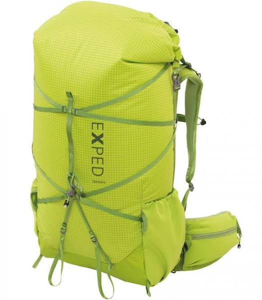 Exped Lightning 45 Green, Mountaineering & Trekking Backpack (Size 45l - Color Lichen)