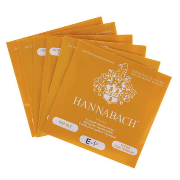 Hannabach 800 SLT Yellow Classical Guitar Strings