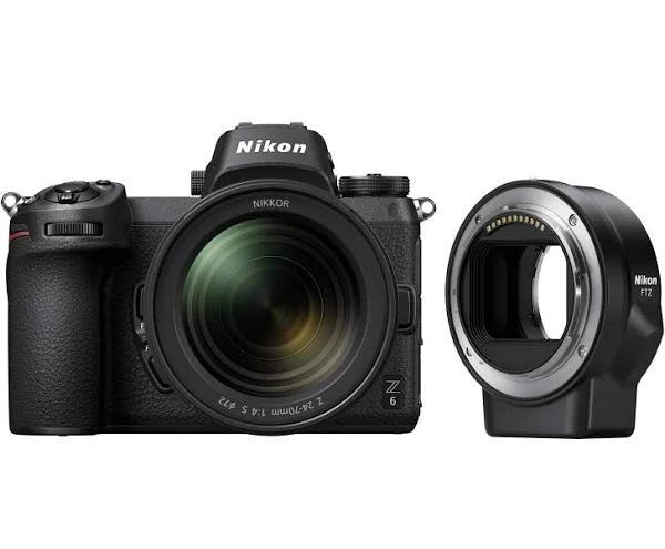 Nikon Z6 + NIKKOR Z 24-70mm f/4 S + FTZ Adapter