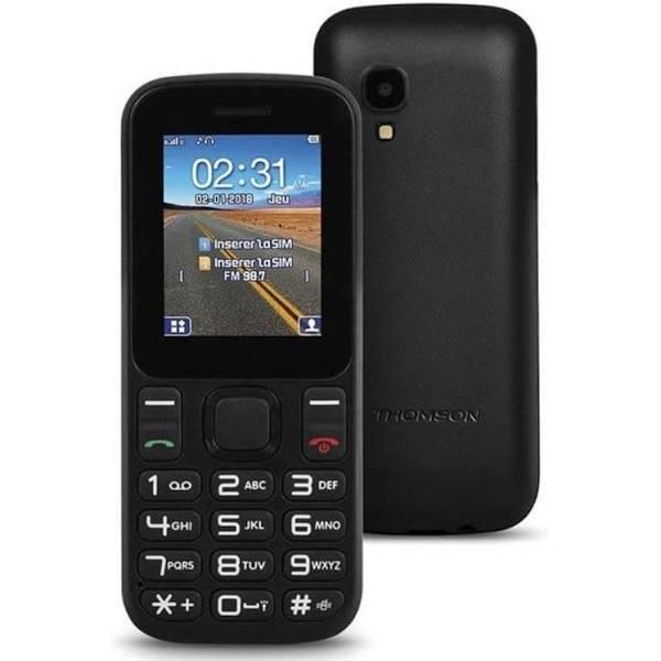 """Mobiltelefon för seniorer Thomson TLINK T12 1,77"""" Bluetooth VGA FM"""