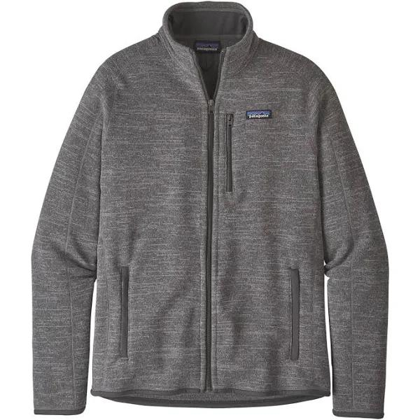 Patagonia Better Sweater Jacket Grey, Mens Fleece Jacket (Size S - Color Nickel)
