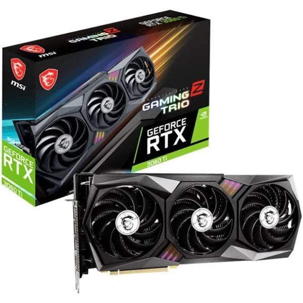 Msi Geforce Rtx 3060 Ti Gaming Z Trio 8G Lhr 8Gb Gddr6 1Xhdmi 2.1 3Xdp 1.4