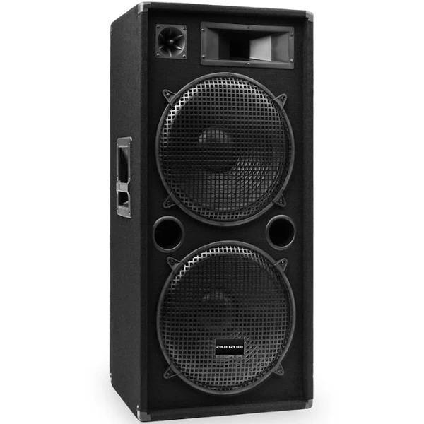 "Auna Pro PW-2522 MKII passiv PA-högtalare 15"" subwoofer max 750W RMS/1500 W"