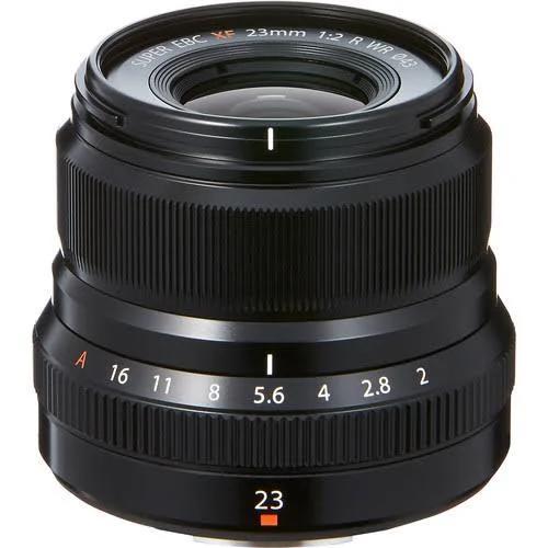 Fujifilm Fujinon XF 23mm f/2,0 R WR svart