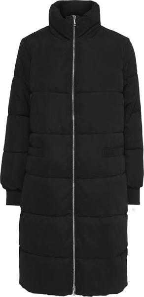Jacqueline De Yong Jdynoble X-long Collar Jacket Otw H Dunjackor Black
