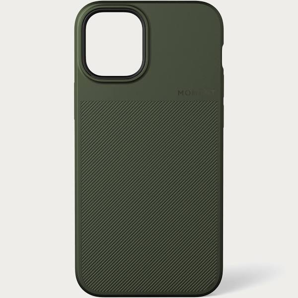 Moment iPhone 12 Pro Max Thin Case - Olive Green
