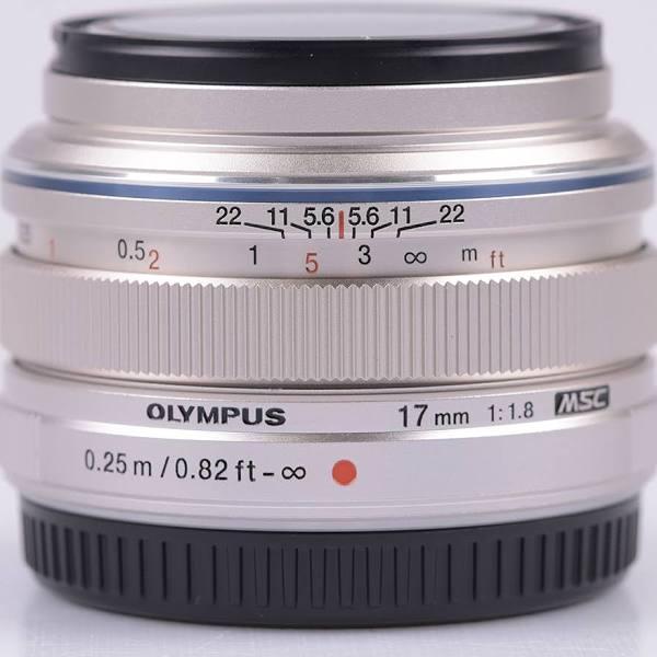 Olympus M.ZUIKO DIGITAL 17mm f/1,8 silver