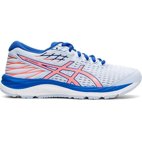 ASICS - Gel-Cumulus 21 GS Running Shoes Kids soft sky sun coral - size: 4.5