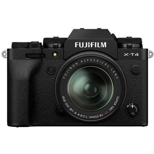 Fujifilm X-T4 + 18-55/2,8-4,0 Svart