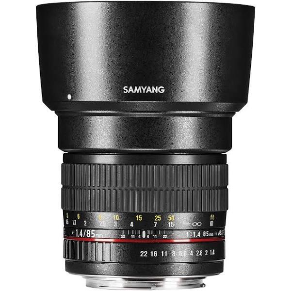 Samyang 85mm F1.4 Canon