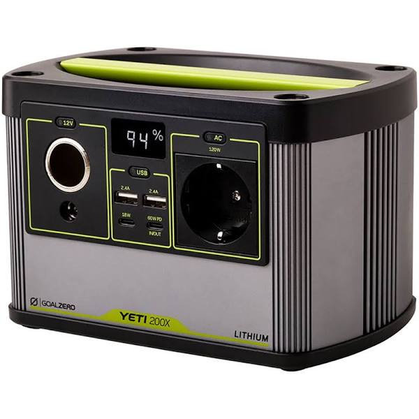 Goal Zero Yeti 200x Lithium Portable Power Station 230v