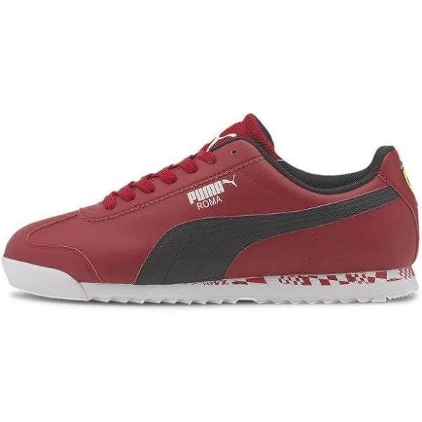 Puma Scuderia Ferrari RACE ROMA Sneakers rosso corsap blkp wht, gender.adult.male, Storlek: 48.5, Röd