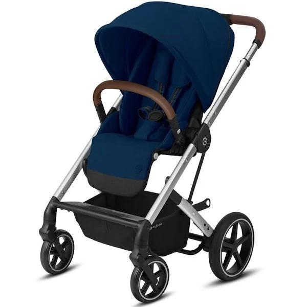 Cybex Balios S LUX Silver Navy Blue