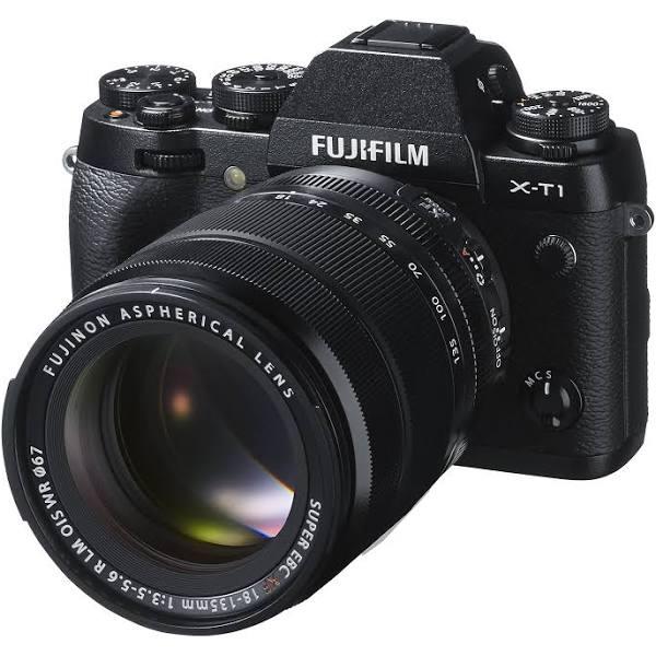 Fujifilm X-T1 systemkamera (16,3 megapixel, 7,6 cm (3 tum) LCD-skärm, X-Trans CMOS II sensor, SD/SDHC-kortplats, Full HD, HDMI, USB 2.0) svart, inkl