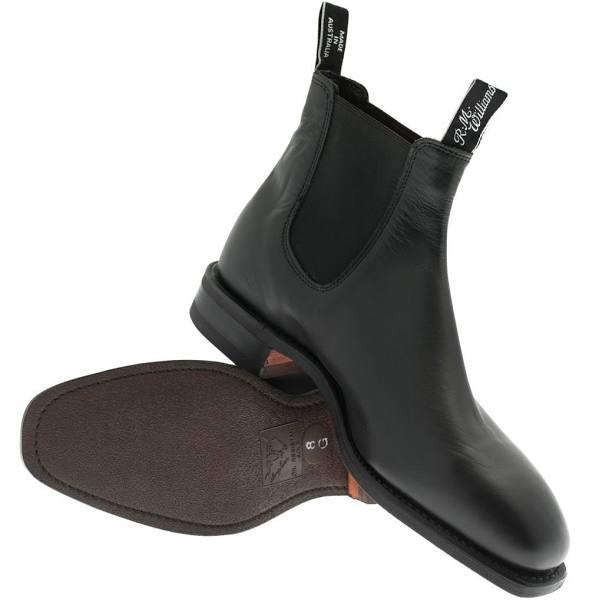 RM Williams Comfort Craftsman Boots Colour: Black, Shoe Size: 12, Shoe