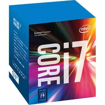 Intel Core i7-7700 3.6 GHz Quad-Core LGA 1151 Processor Retail, CPU Kaby Lake 7th Gen, Speed 4.2GHz, Name S, Non Xeon, 8, 14 nm,