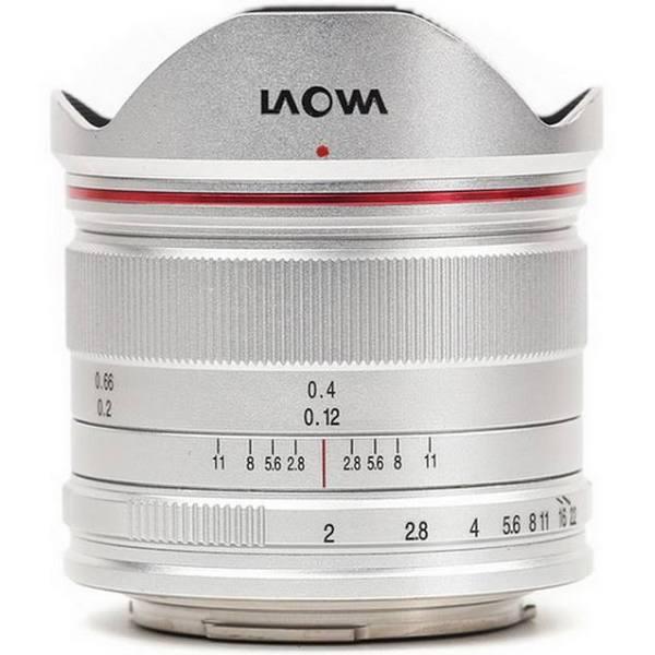Laowa 7.5mm f/2 MFT Sølv