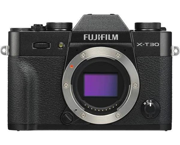 Fujifilm X-T30 -systemkamera, svart