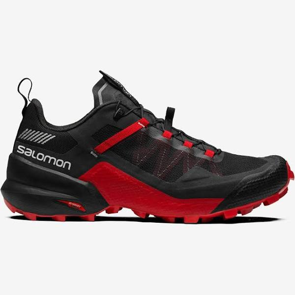 SALOMON Sneakers City Cross Svart/Svart/Goji Berry Röd - 40 - Herr