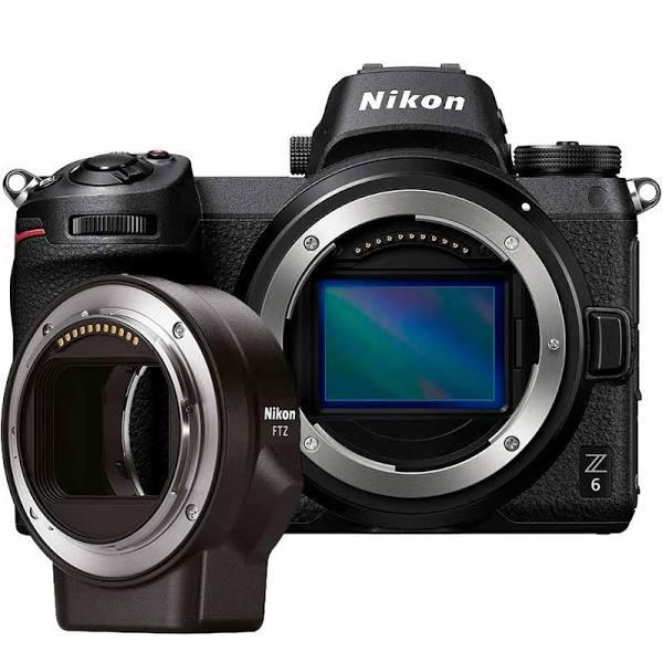 Nikon Z6 + adapter FTZ