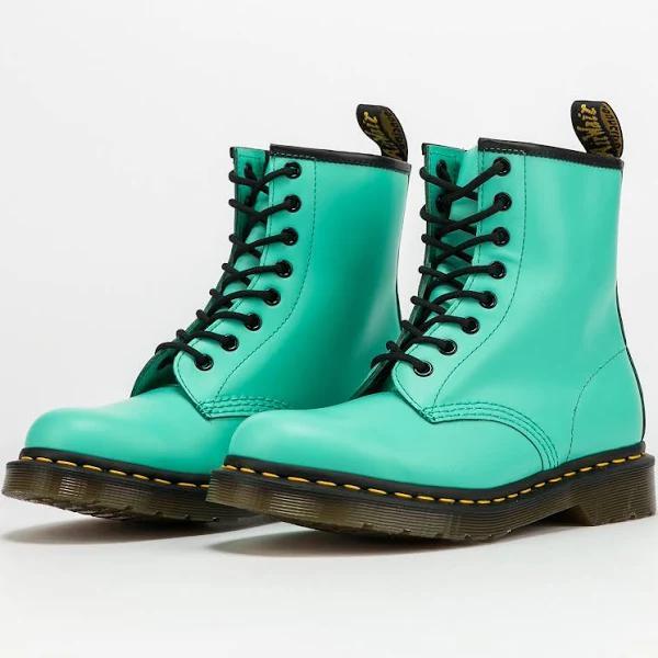 Women's winter boots Dr. Martens 1460 peppermint green smooth