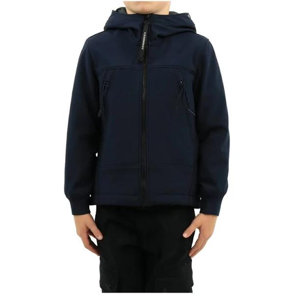 C.p. Company Ytterkläder - Short jacka Lätta Jackor , Blå, Herr, barn , Storlek: 8y