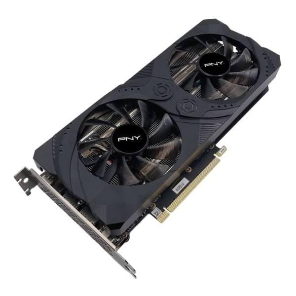 PNY GeForce RTX 3060 Ti - UPRISING Dual Fan Edition - grafikkort - GF RTX 3060 Ti - 8 GB GDDR6 - PCIe 4.0 x16 - HDMI, 3 x DisplayPort