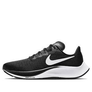 Nike Womens WMNS Air Zoom Pegasus 37 Black White Marathon Running Shoes/Sneakers BQ9647-002 (Size: EU 39)