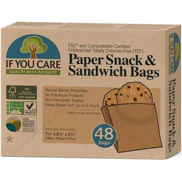 If You Care Smörgåspåse - 48 st