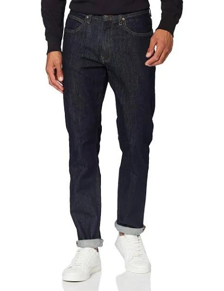LEE Jeans Brooklyn Raka Blå - 34x30 - Herr