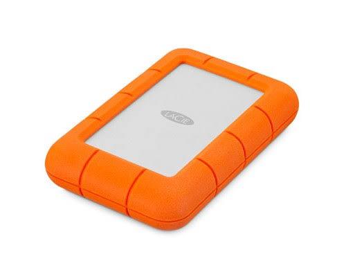 LaCie Rugged Mini 2tb Orange, Silver