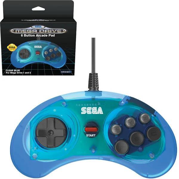 Retro-Bit SEGA Mega Drive 6-B Blue