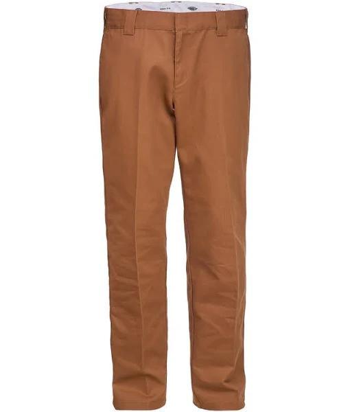 Dickies 873 Slim Straight Work Pant Brown Duck