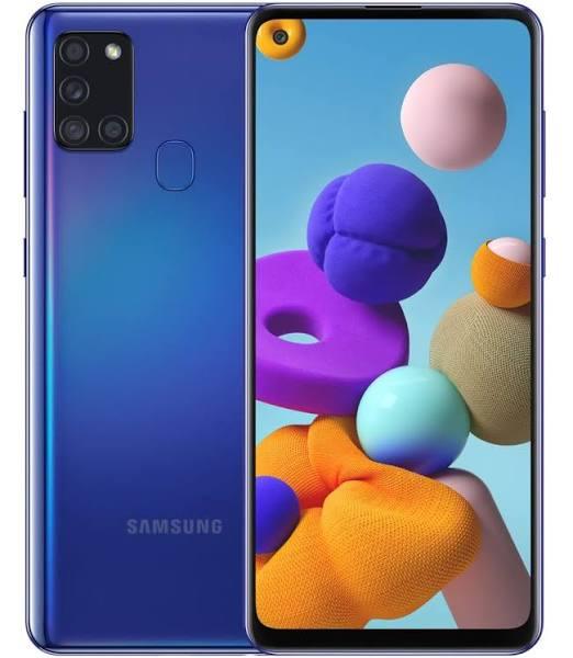 Samsung Galaxy A21s - 32GB - Blå
